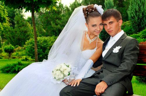 Фото со свадьбы жениха и невесты