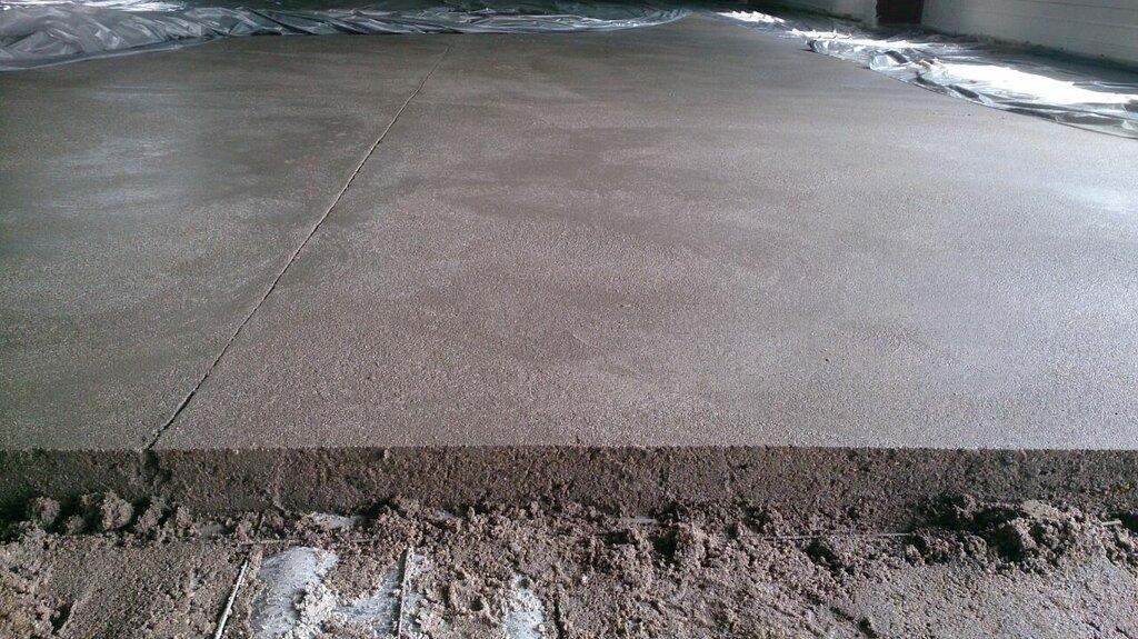 бетонная стяжка сколько сохнет