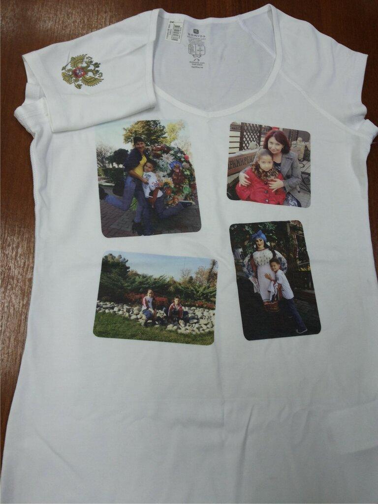 Напечатать фото на футболке краснодар