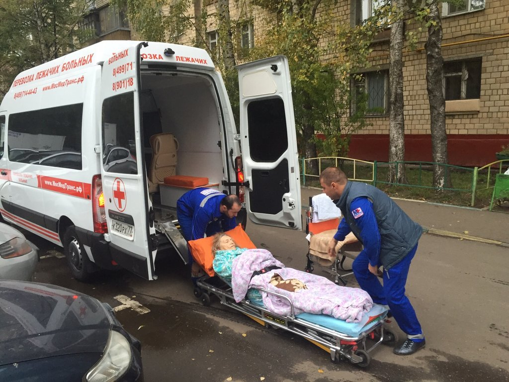 скорая медицинская помощь — МосМедТранс — Москва, фото №9