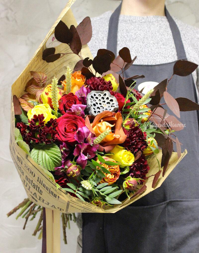 Доставка цветов шарья фазенда, букет