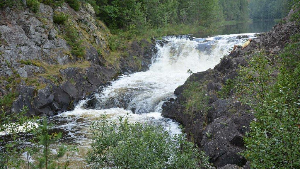 waterfall — Кивач — undefined, фото №2