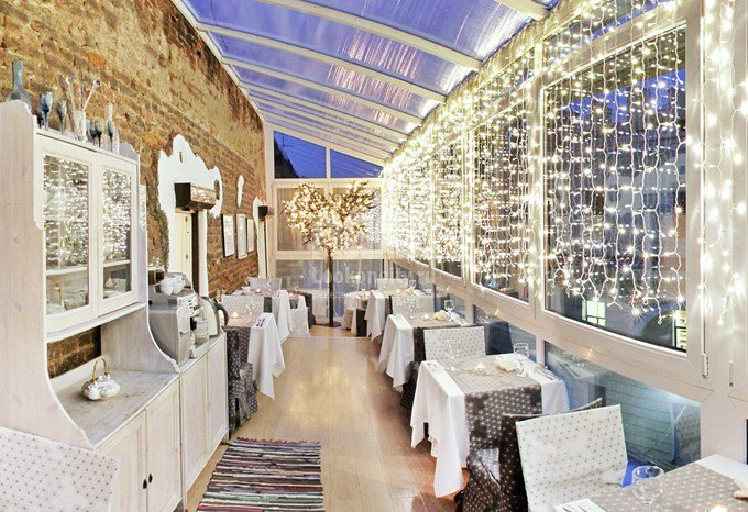 restaurant — Cherdak Khudozhnika — Saint Petersburg, фото №1