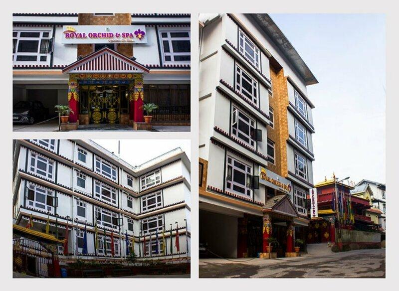Отель Jain Group Royal Orchid & SPA Gangtok