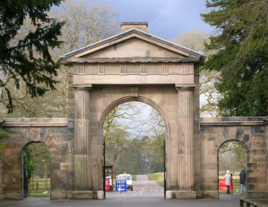 Фото парка арки