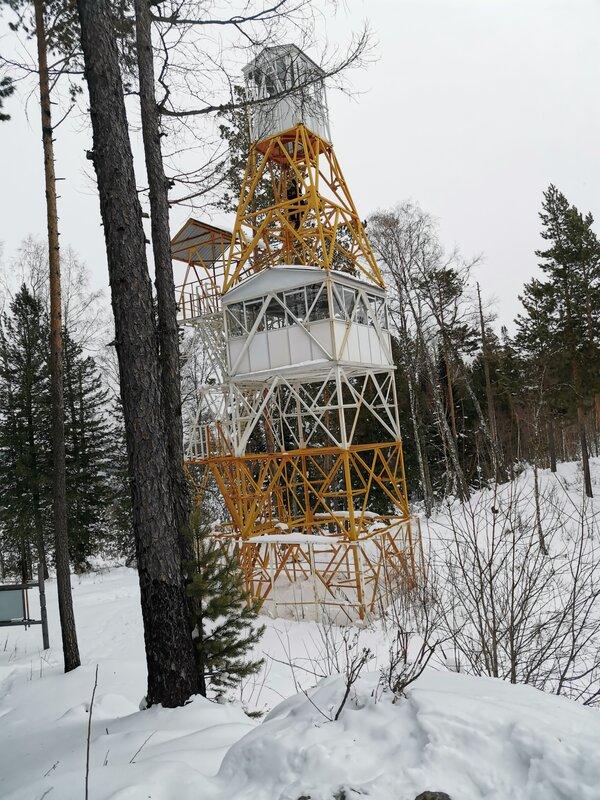 Визит-центр Шушенский бор