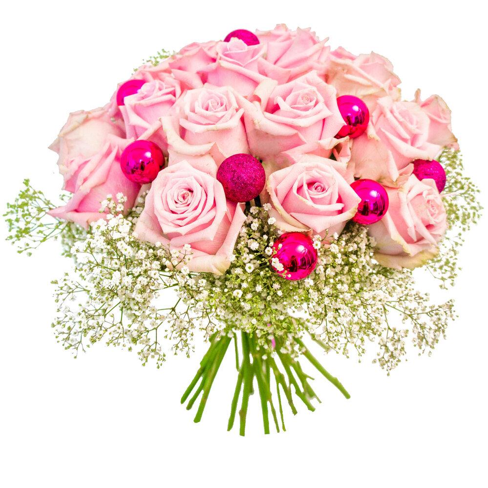 красивый букет цветов на юбилей