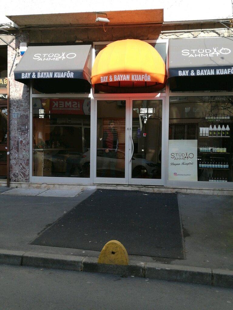 kuaförler — Studıo Ahmet Bay & Bayan Kuaförü — Fatih, foto №%ccount%