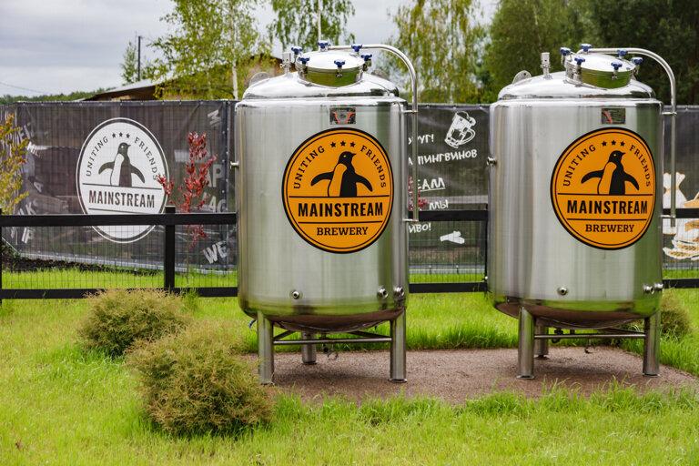 бар, паб — Mainstream Brewery — деревня Долматово, фото №1