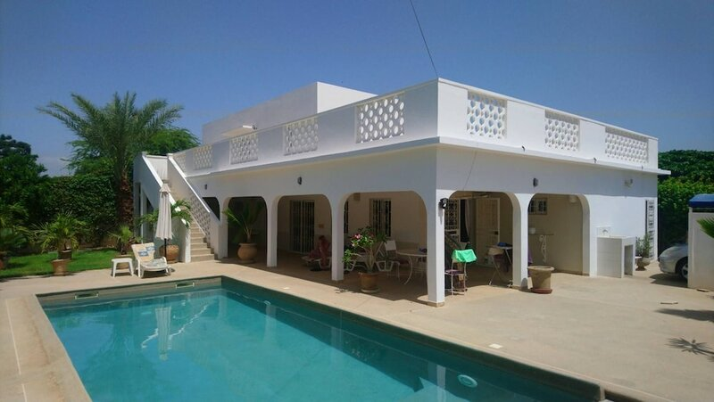 Villa With 3 Bedrooms in Nianing, With Wonderful City View, Private Pool, Enclosed Garden