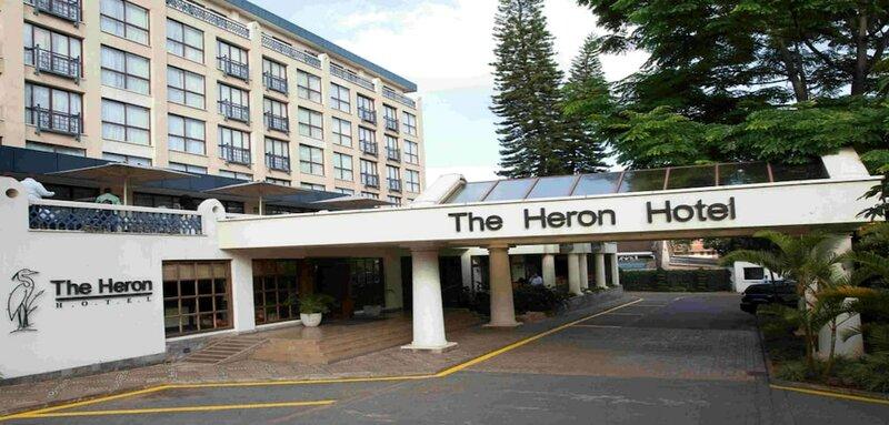 The Heron Portico