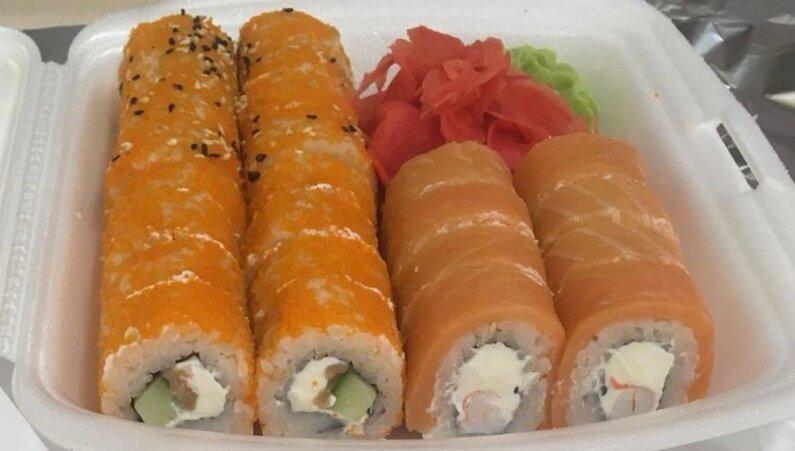 фото суши вок тюмень эффект размытия или