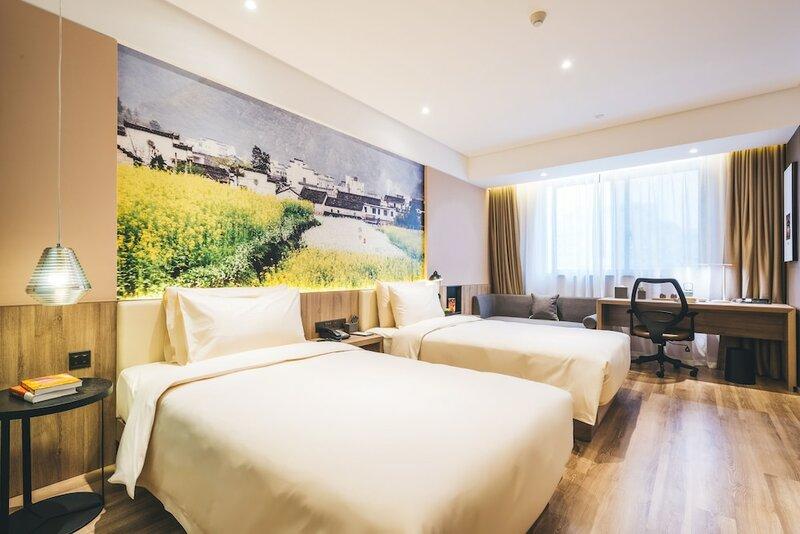 GreenTree Inn Anhui Hefei West Wangjiang Road Qianshan Road Express Hotel