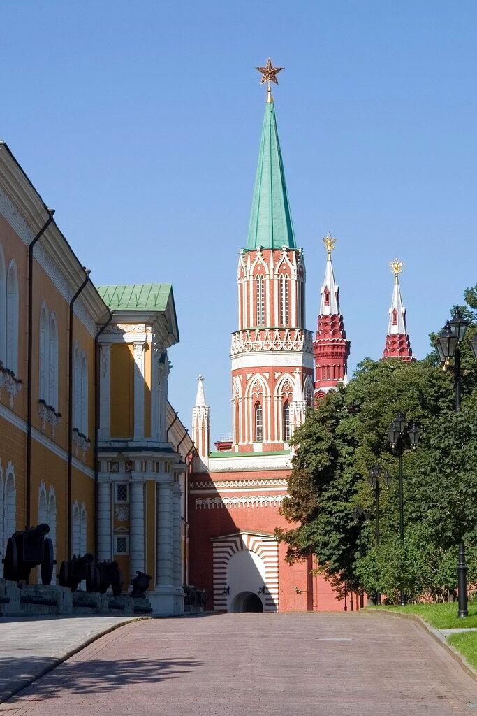 достопримечательность — Никольская башня — Москва, фото №7