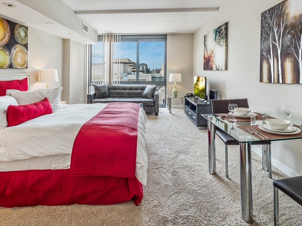 гостиница — Bluebird Suites at Penn Quarter — City of Washington, фото №5