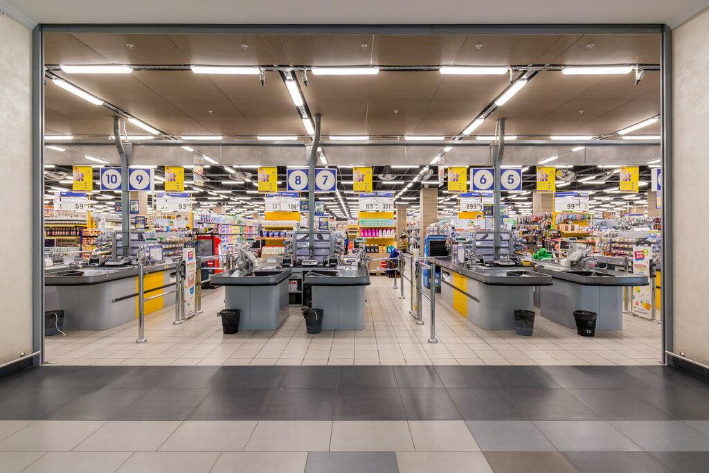 продуктовый гипермаркет — Лента — Москва, фото №2