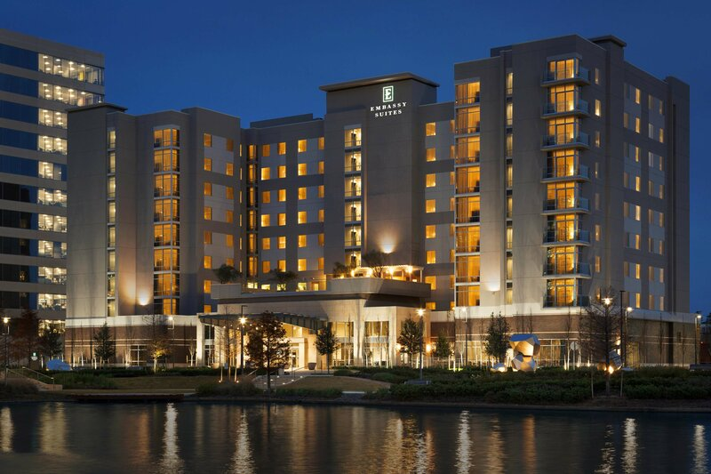 Embassy Suites by Hilton The Woodlands At Hughes Landing