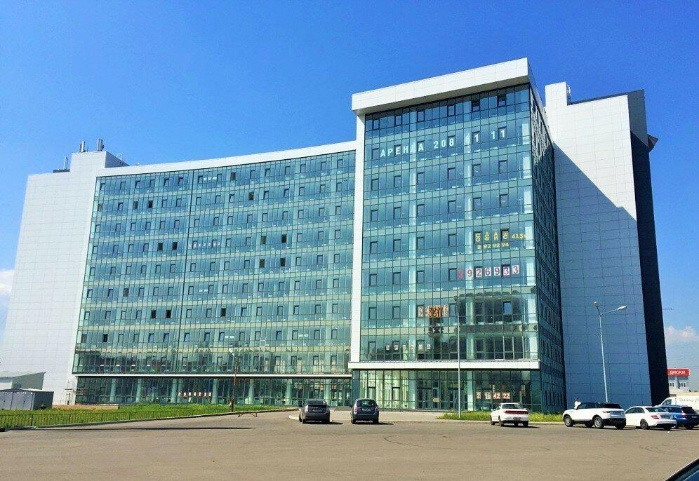 фотография фасада здания в котором распологается офис рекламного агентства «Кирпич»