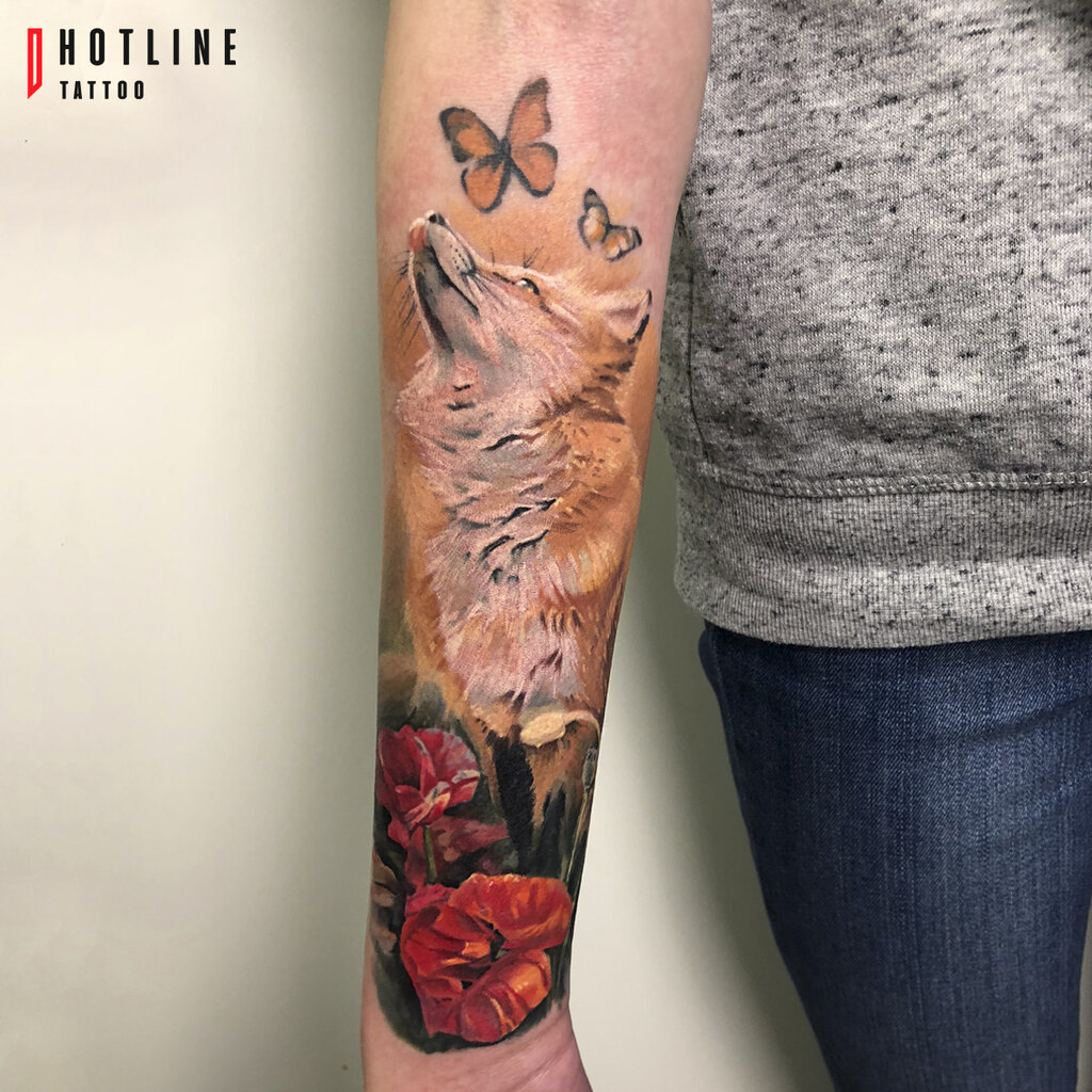 Hotline Tattoo тату салон благовещенский пер 3 стр 1 москва