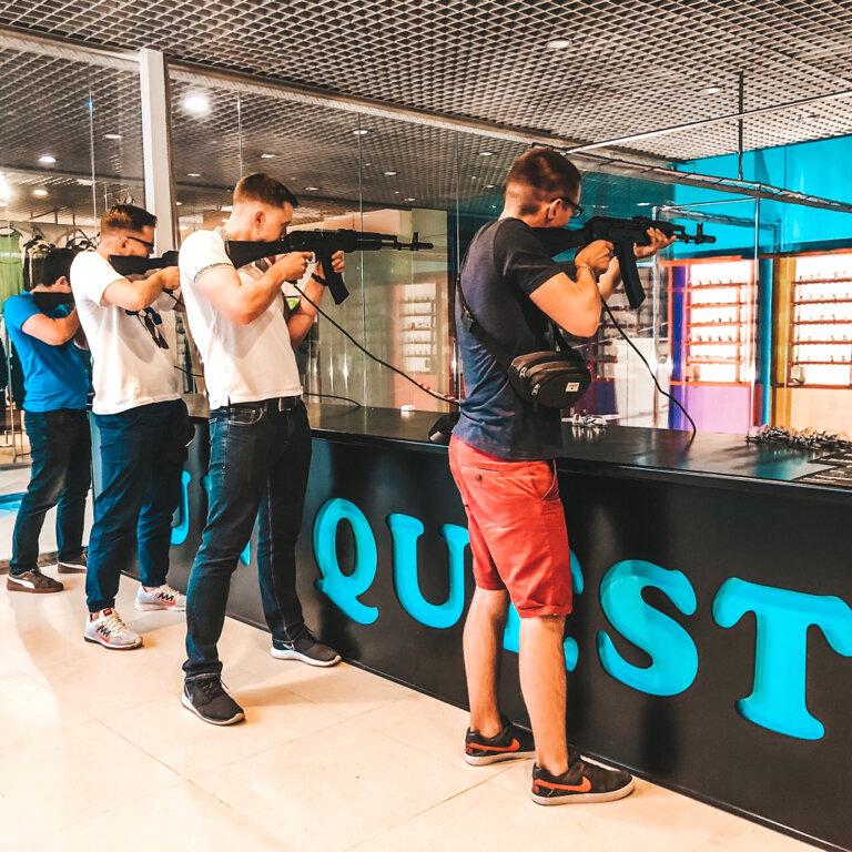 стрелковый клуб, тир — Gun Quest Club — Москва, фото №2