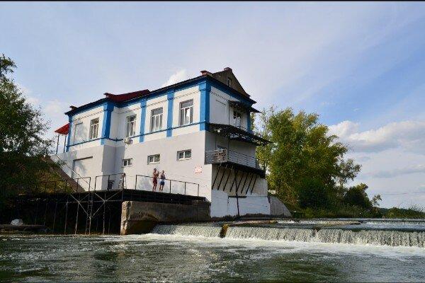 Дом отдыха на старой ГЭС Пересыпкино 1-е
