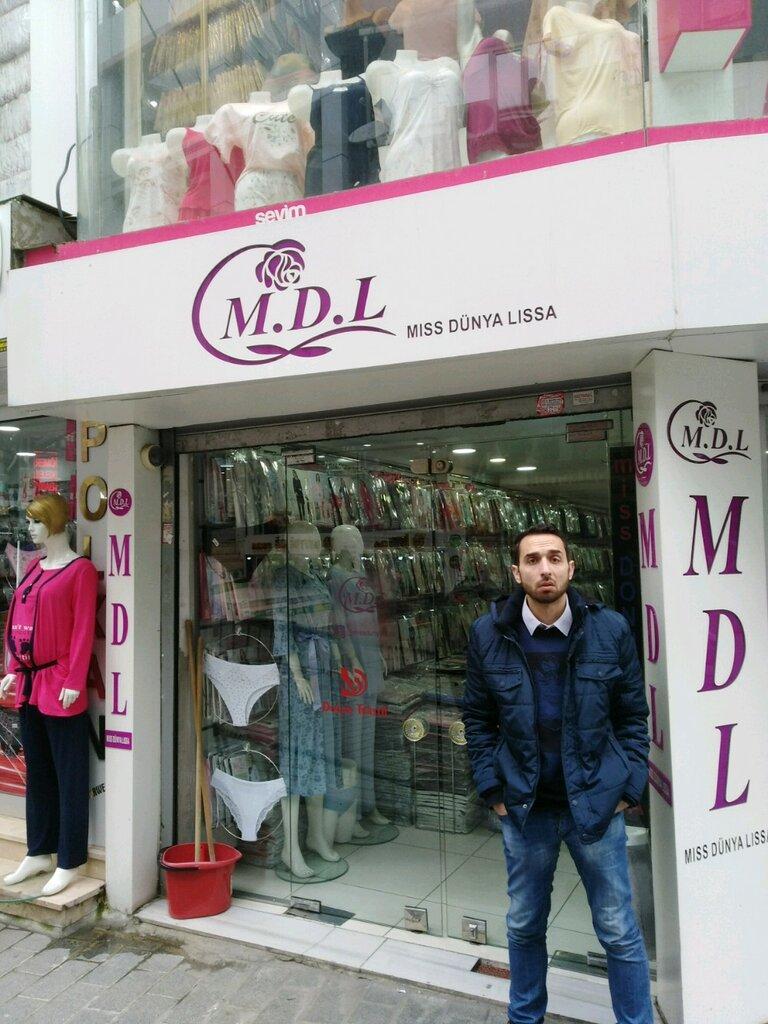 i̇ç çamaşırı ve mayo mağazası — M. D. L — Fatih, photo 1