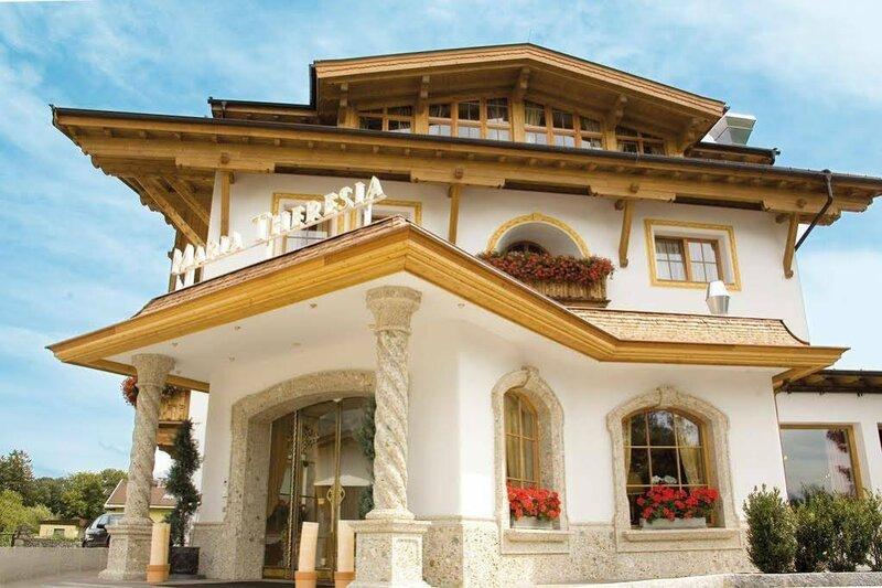 Gartenhotel Maria Theresia Hall in Tirol