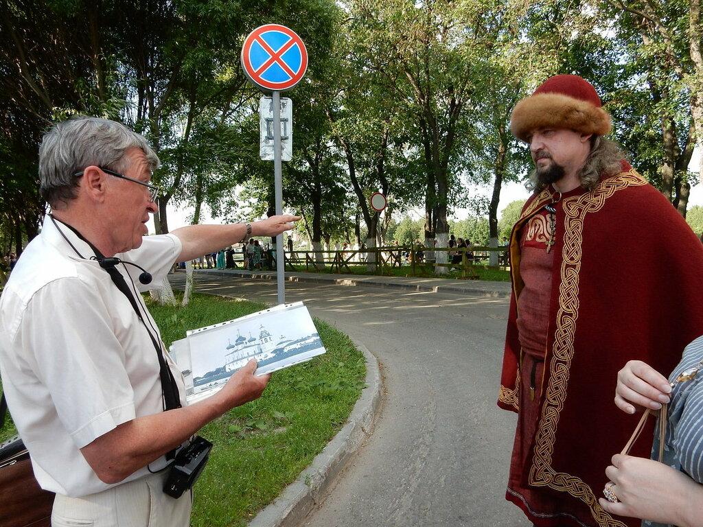 деловой туризм — Экскурсовод Александр Сазонов — Вологда, фото №1