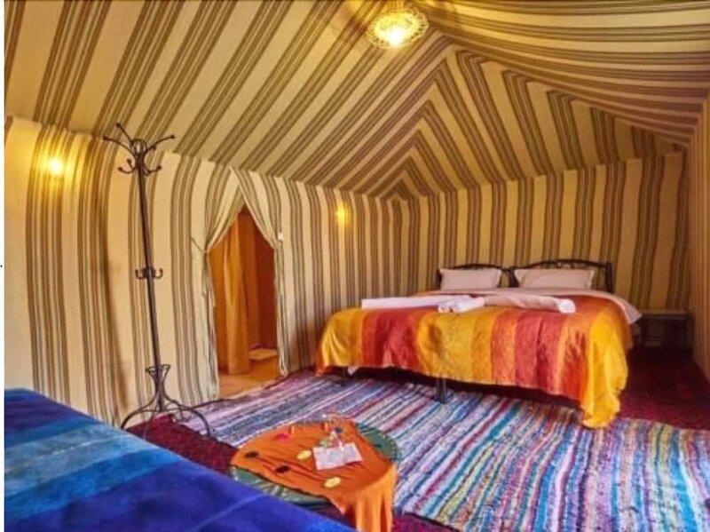 Desert Berber Fire Camp