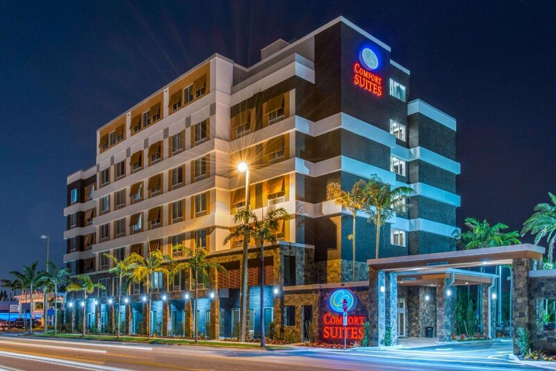 Comfort Suites Fort Lauderdale Airport And Cruise Port