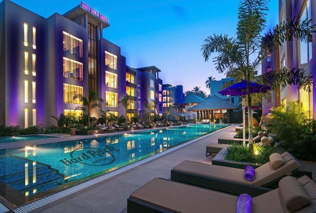 Популярный отель  HARD ROCK HOTEL GOA 5* на Гоа !