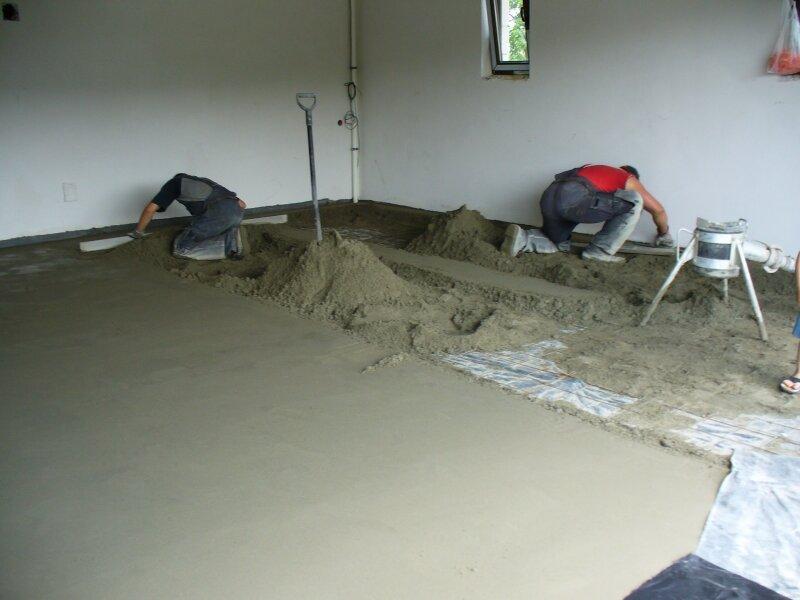 стяжка бетона стоимость работ
