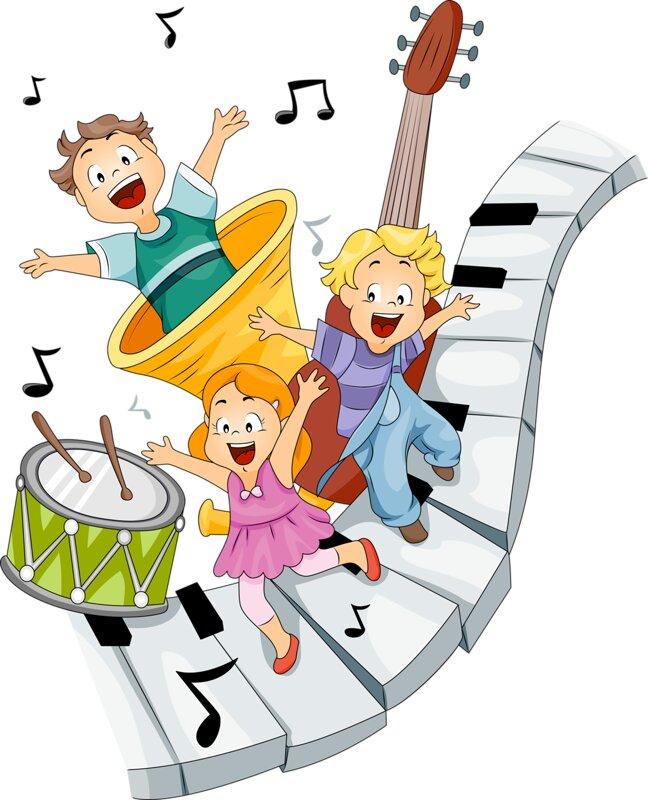 Музыкальные картинки детям, рисунки