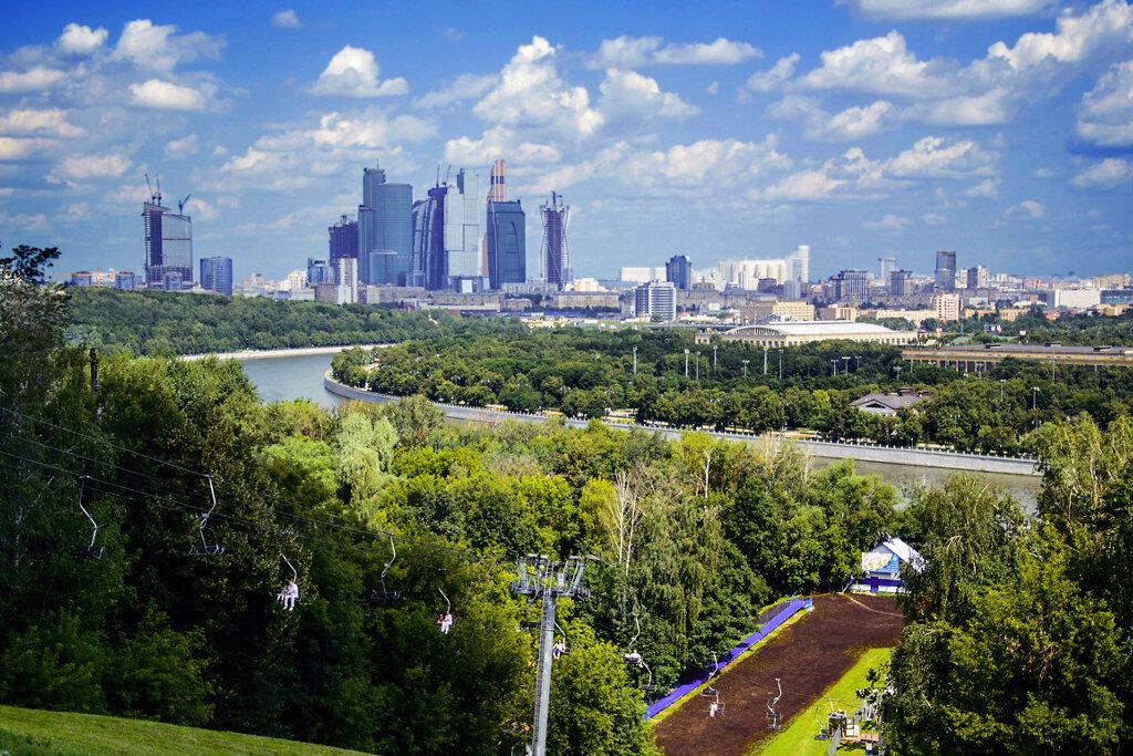 смотровая площадка — Смотровая площадка Воробьёвы горы — Москва, фото №8