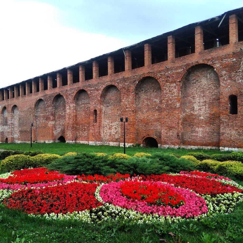 достопримечательность — Смоленская крепостная стена — Смоленск, фото №1