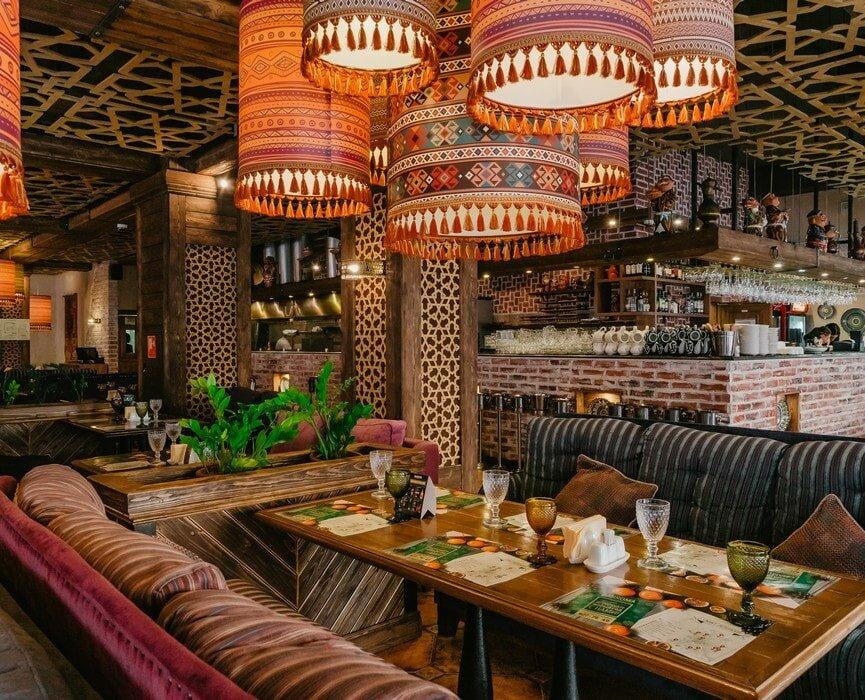 Ресторан бахрома на просвещения фото