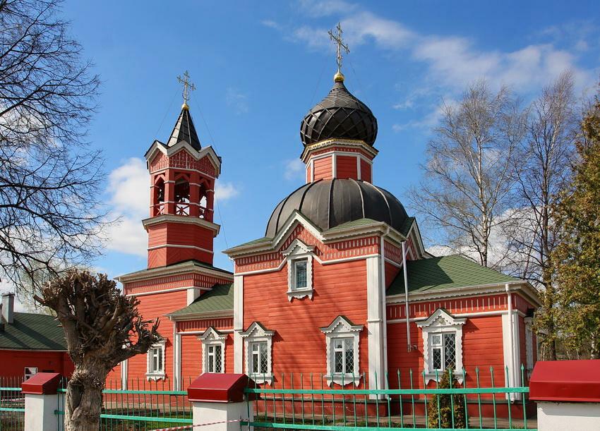 православный храм — Храм Великомученика и Победоносца Георгия — Ивантеевка, фото №2
