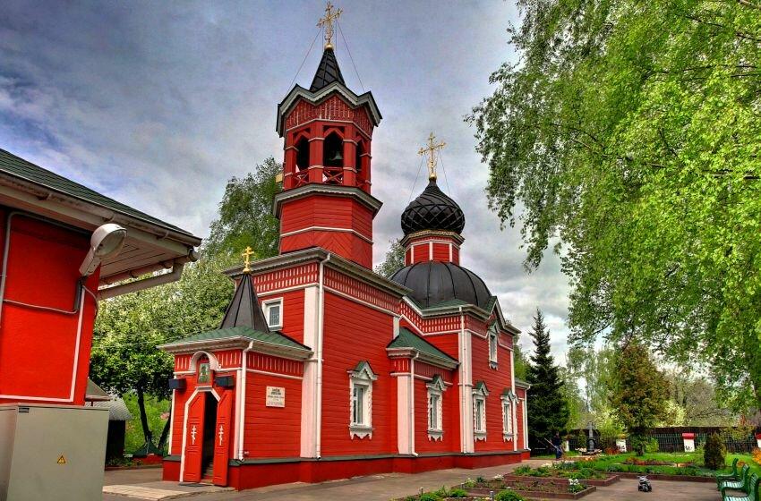Георгиевская Церковь в которой меня и всех моих детей крестили