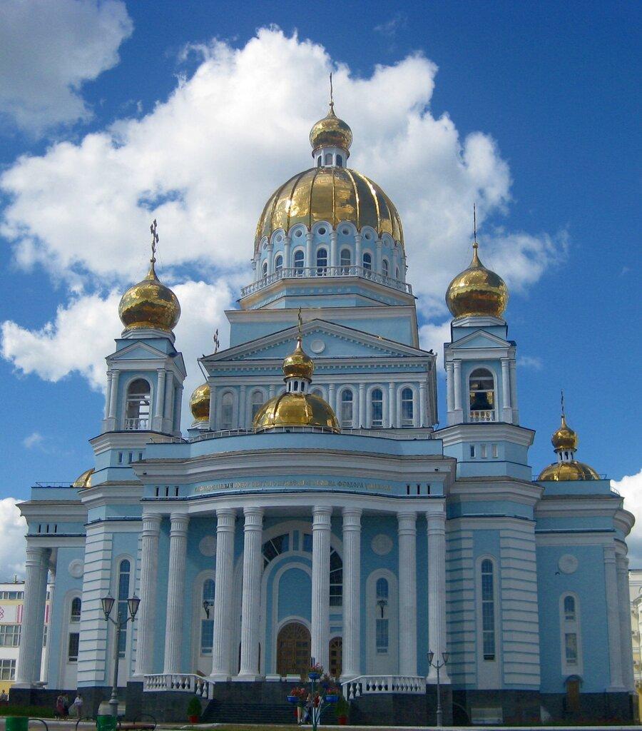 православный храм — Кафедральный собор Феодора Ушакова — Саранск, фото №4