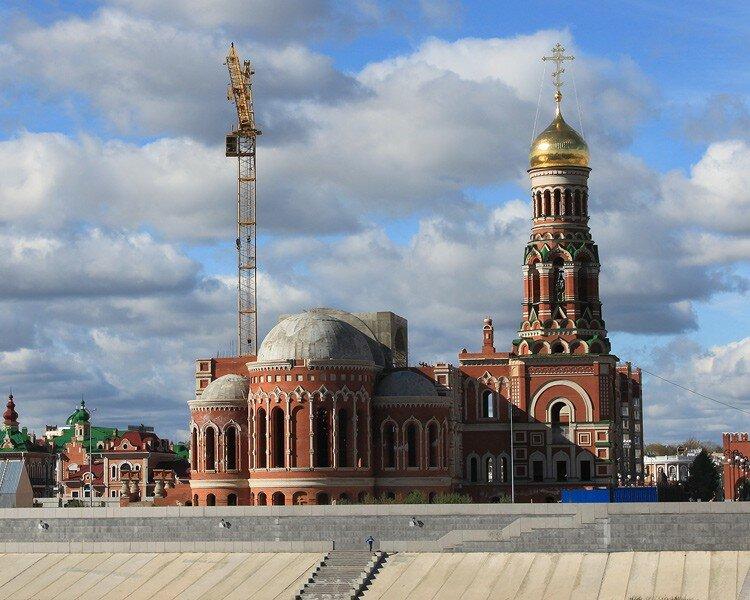 православный храм — Кафедральный собор Благовещения Пресвятой Богородицы — Йошкар-Ола, фото №5