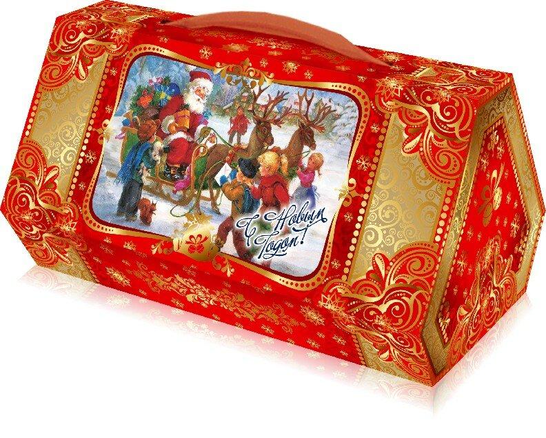 картинка подарочные конфеты новогодние очень давно