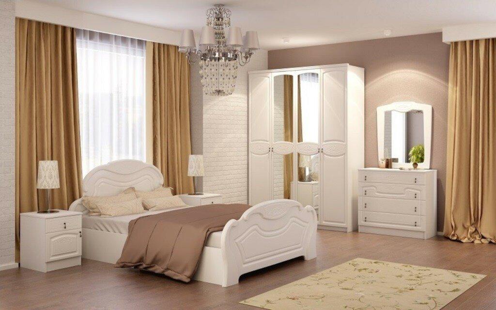 Варианты оформления спальни фото нужно