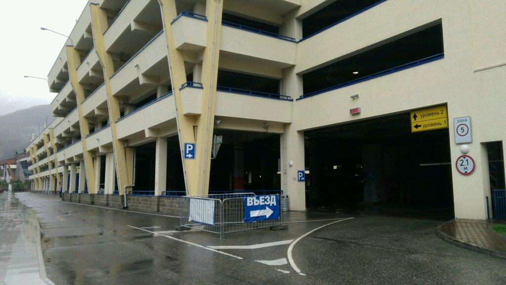 автомобильная парковка — Парковка Pb — Сочи, фото №1