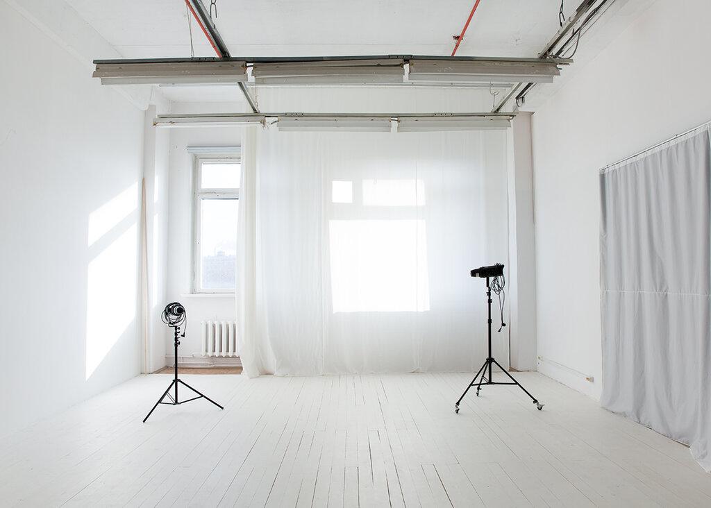 Оформление окон в фотостудии