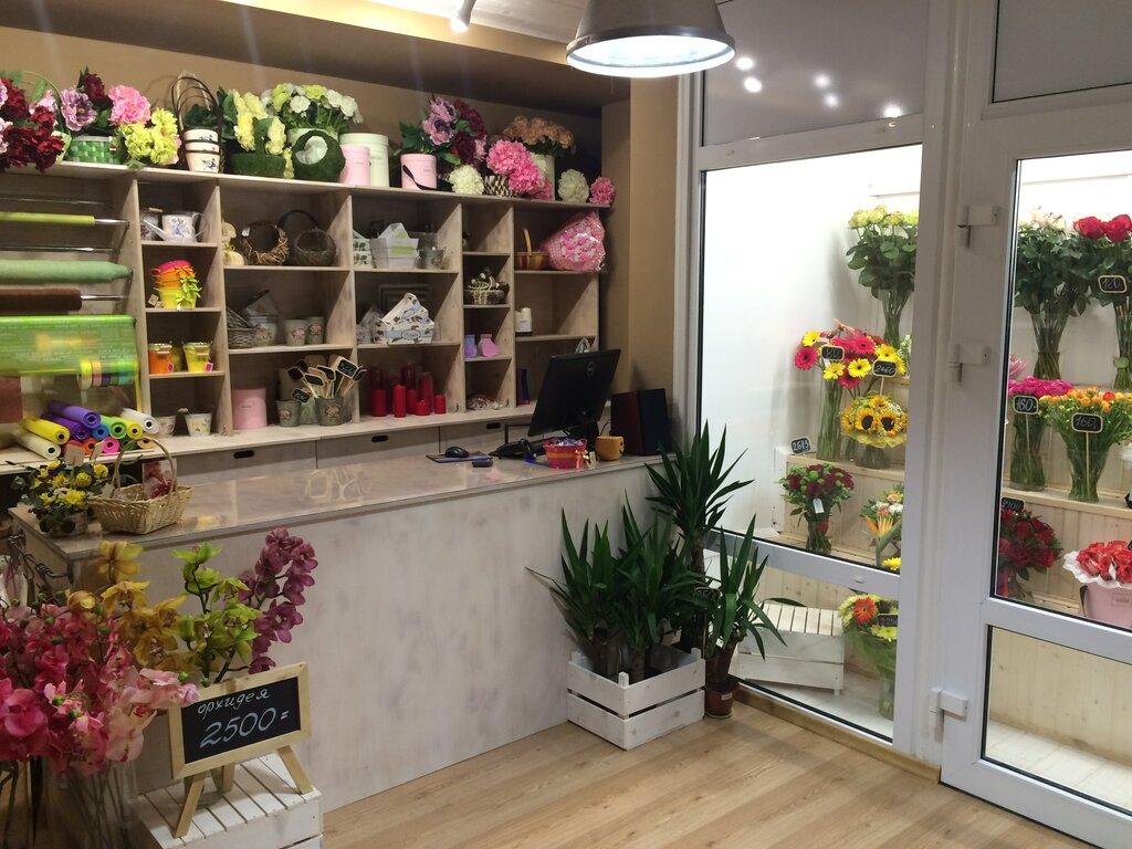 Букет, салон цветов цветной калуга