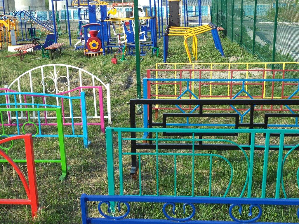 металлические заборы и ограждения — Альта — Тюменская область, фото №1