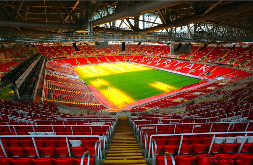 стадион — Открытие Арена — Москва, фото №2