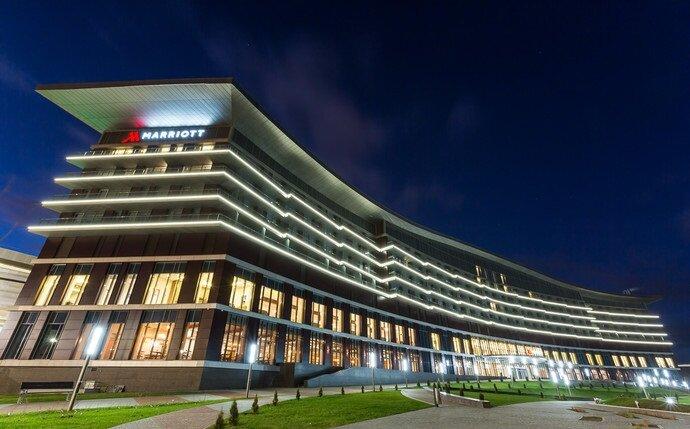 гостиница — Minsk Marriott Hotel — Минск, фото №1