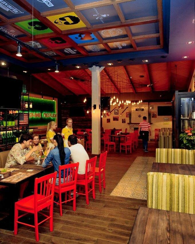 ресторан — Американский пивной ресторан Горячие перцы — Одесса, фото №4