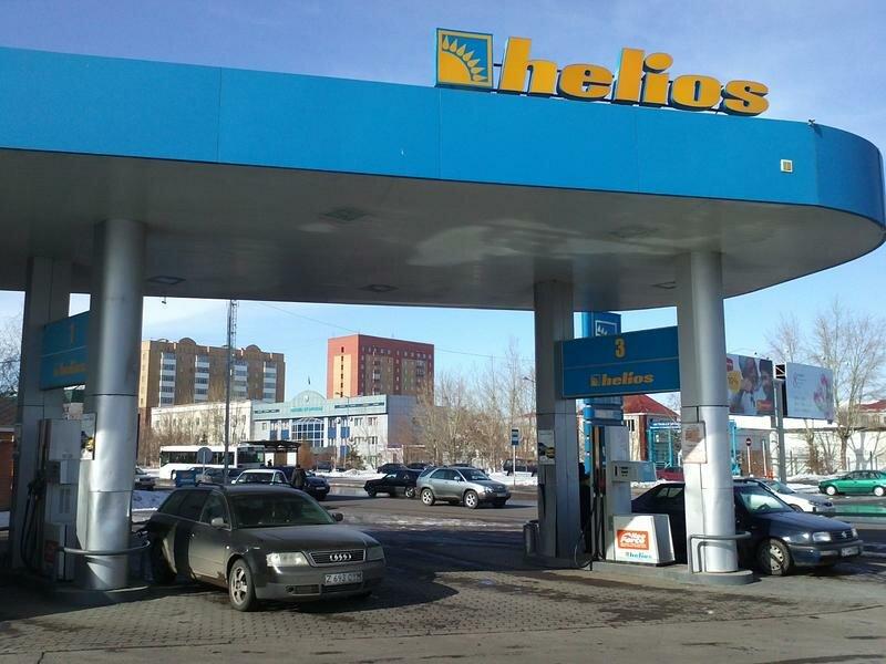 АЗС — Helios — Нур-Султан (Астана), фото №1